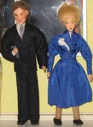 Erna Meyer 1950s 1/10 scale couple