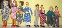 Erna Meyer dolls with plastic feet