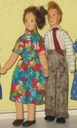 Erna Meyer 1960s 1/12 scale couple