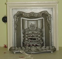Mid 19th century fireplace
