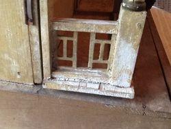 Remaining porch railings