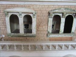 First floor windows and balcony