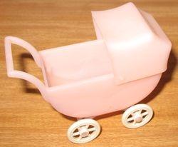 Pink Kleeware pram