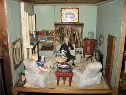 Cupboard house drawing room