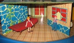 Eagle Toys hexagonal house 1950s