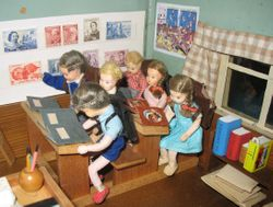 Primary Class at school - detail
