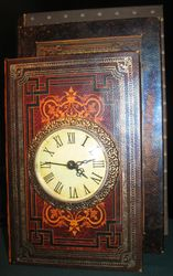 Fair exhibits- a book & time roombox