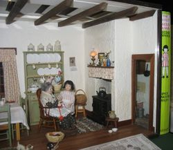 Fair exhibits- Milly-Molly-Mandy room & scullery