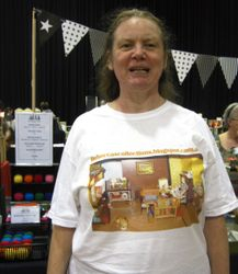 Me in my dolls house T-shirt!
