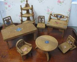 Folding fretwood furniture