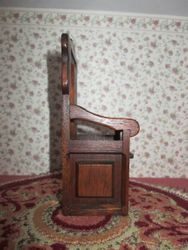 Side of chair