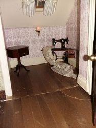 Attic sewing room