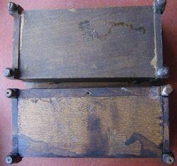 Elgin and similar German-made coffers - bottom