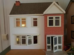 Marie's Seventies' style dolls house