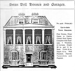 Swan Dolls House No 4276, 1912