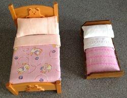 Jan's pink bedding