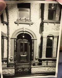 Photos of the house - front door