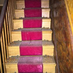 Stairs and banisters