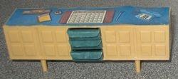 A single tan sideboard