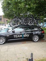 Team Sky Team Car