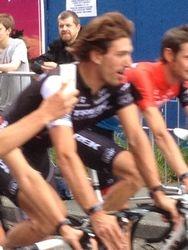 Cancellara & Trek Team cycle by