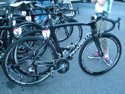 Froome's Pinarello Dogma after Stage 1