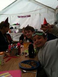 Dizzy's birthday party!