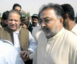 Sardar Ghaibi Khan Mugheri & Mian Nawaz Sharif