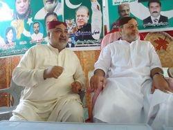 Sardar Ghaibi Khan Mugheri & Amir Bux Bhutto