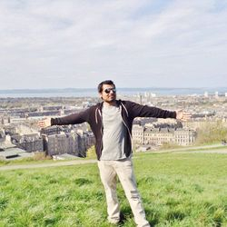 At Edinburg, Scotland, UK