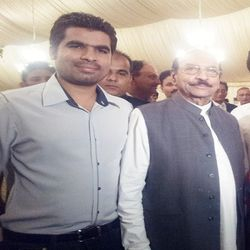 Mir Iqbal With CM Sindh
