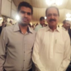 Mir Iqbal with Makhdoom Amin(Minister)