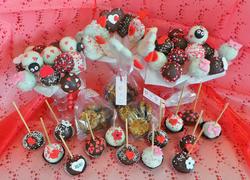 Valentines Cake Pops and Florentina