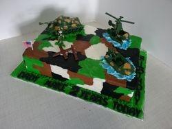Army sheet cake