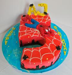 Nr5 Spiderman Cake