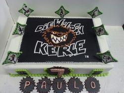 Die Wilden Kerle themed sheet cake