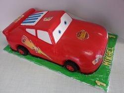 Cars- Lightning McQueen Cake