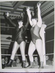 Ladies Tag Suzie McDonald and Lisa Jane.