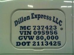 Dillon Express, LLC
