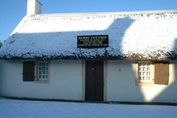 Burns Cottage, Ayr Jan 5th 2010 by Reg Tait
