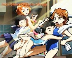 Mai Hime Mai and Mikoto by Radicalgamer