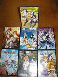 Mai HiME seven DVD singles