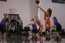 Kenna free throw vs Blue Jays
