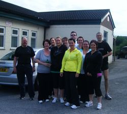 The inaugural Run in England Group
