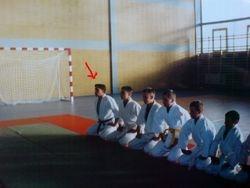 Young Damian :) My First dojo - 2002