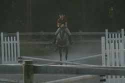 What a cute little jumping fool...