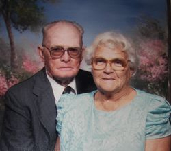 James Elmer and Flora Dell Smith Baxley