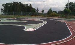 Track setup day