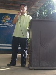 sir glen.. during the opening of nutrition month ..