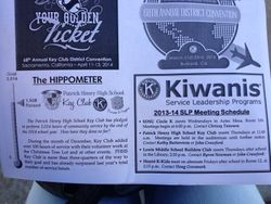 """We were featured in the """"GAG RAG"""", their newsletter!"""